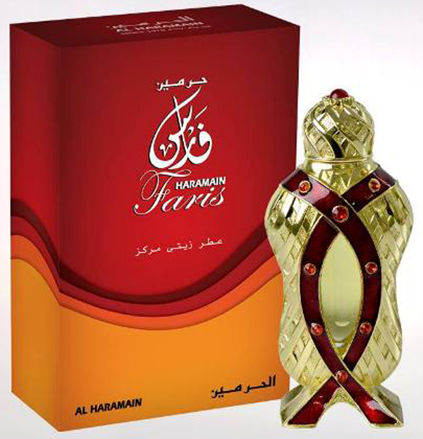 Faris Perfume Oil 12ml by Al Haramain Perfumes