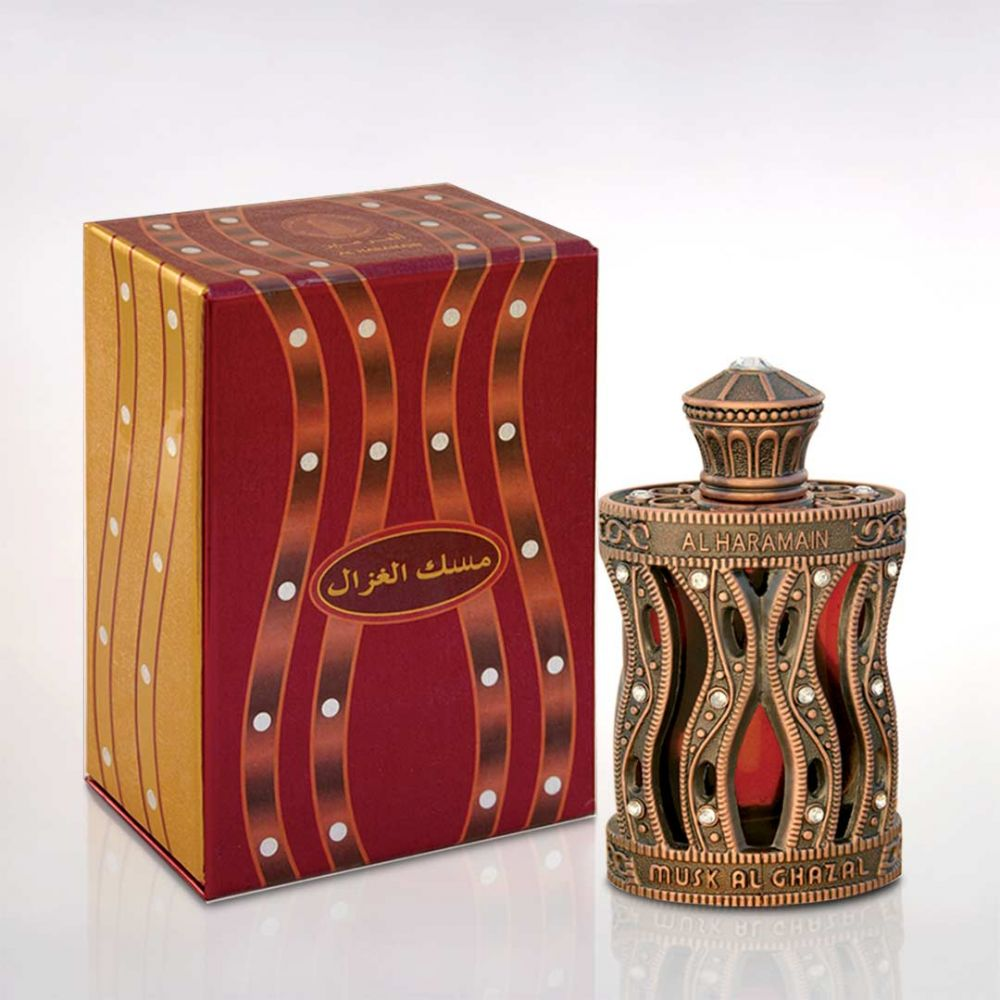 Musk Al Ghazal Perfume Oil 30ml by Al Haramain Perfumes