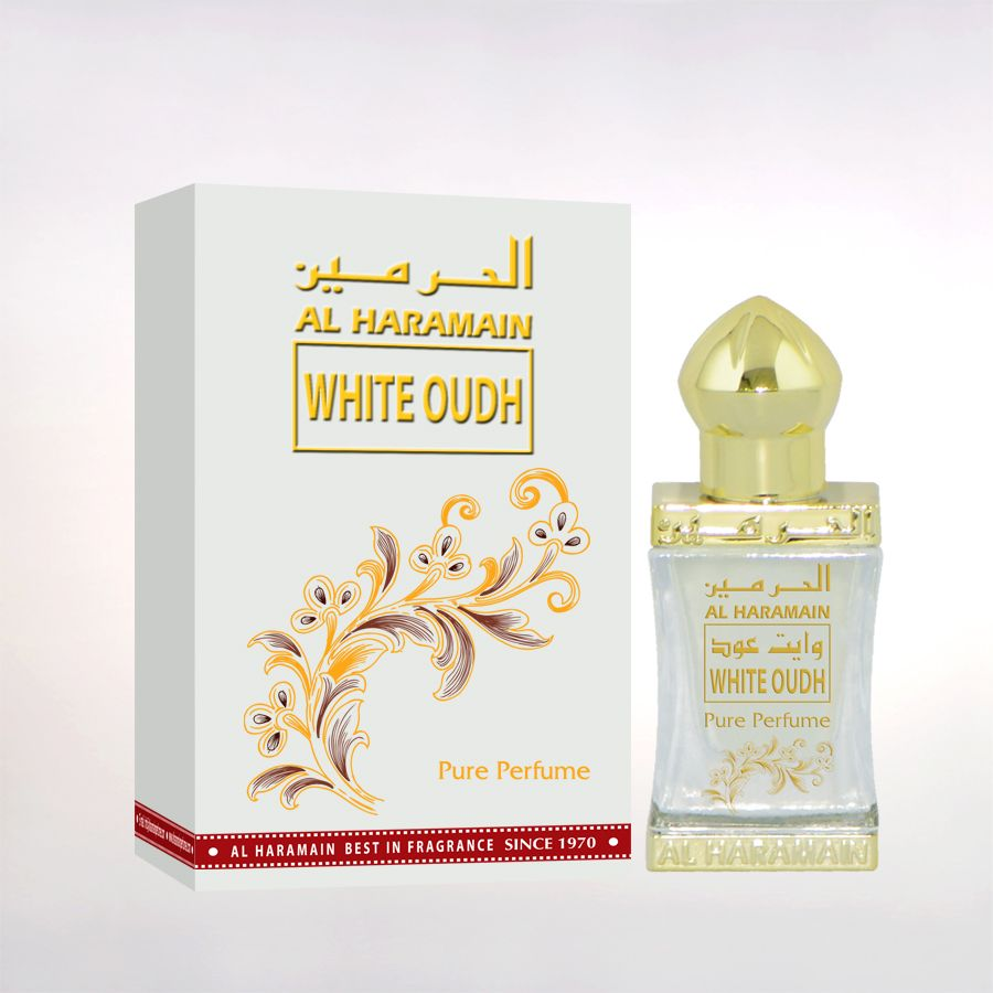 White Oudh Perfume Oil 12ml by Al Haramain Perfumes