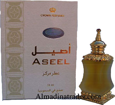 Aseel Perfume Oil 15ml by Crown Perfumes