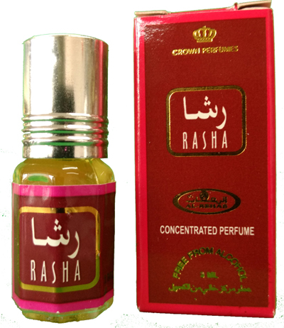 Rasha Roll-on Perfume Oil 3ml by Al Rehab