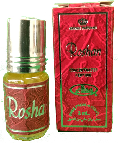 Roshan Roll-on Perfume Oil 3ml by Al Rehab