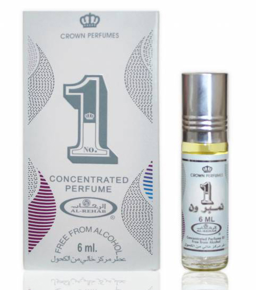 Number 1 Roll-on Perfume Oil 6ml by Crown Perfumes