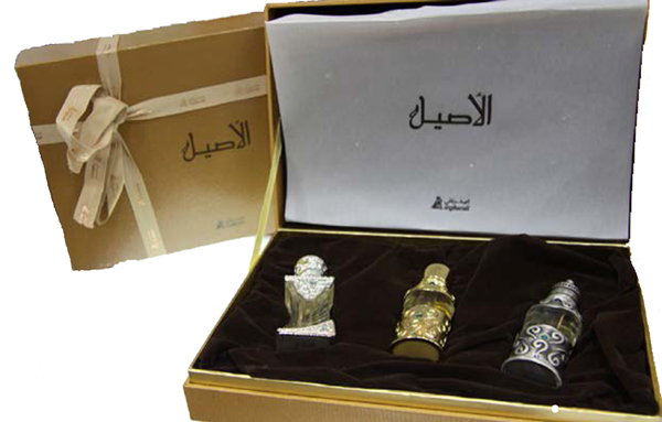Aseel Gift Set 3x6ml Musk, French Rose & Oud by Asgharali