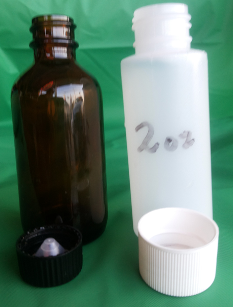 2 OZ. Flower or Fruit Fragrance Burning Oil 66mL capacity bottle