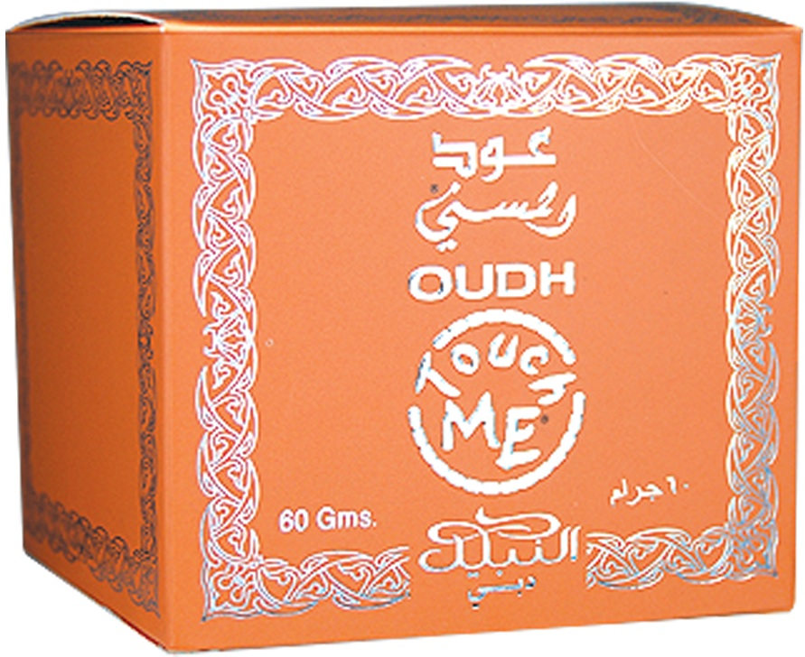 Oudh Touch Me Incense Bakhoor 60 Grams by Nabeel Perfumes